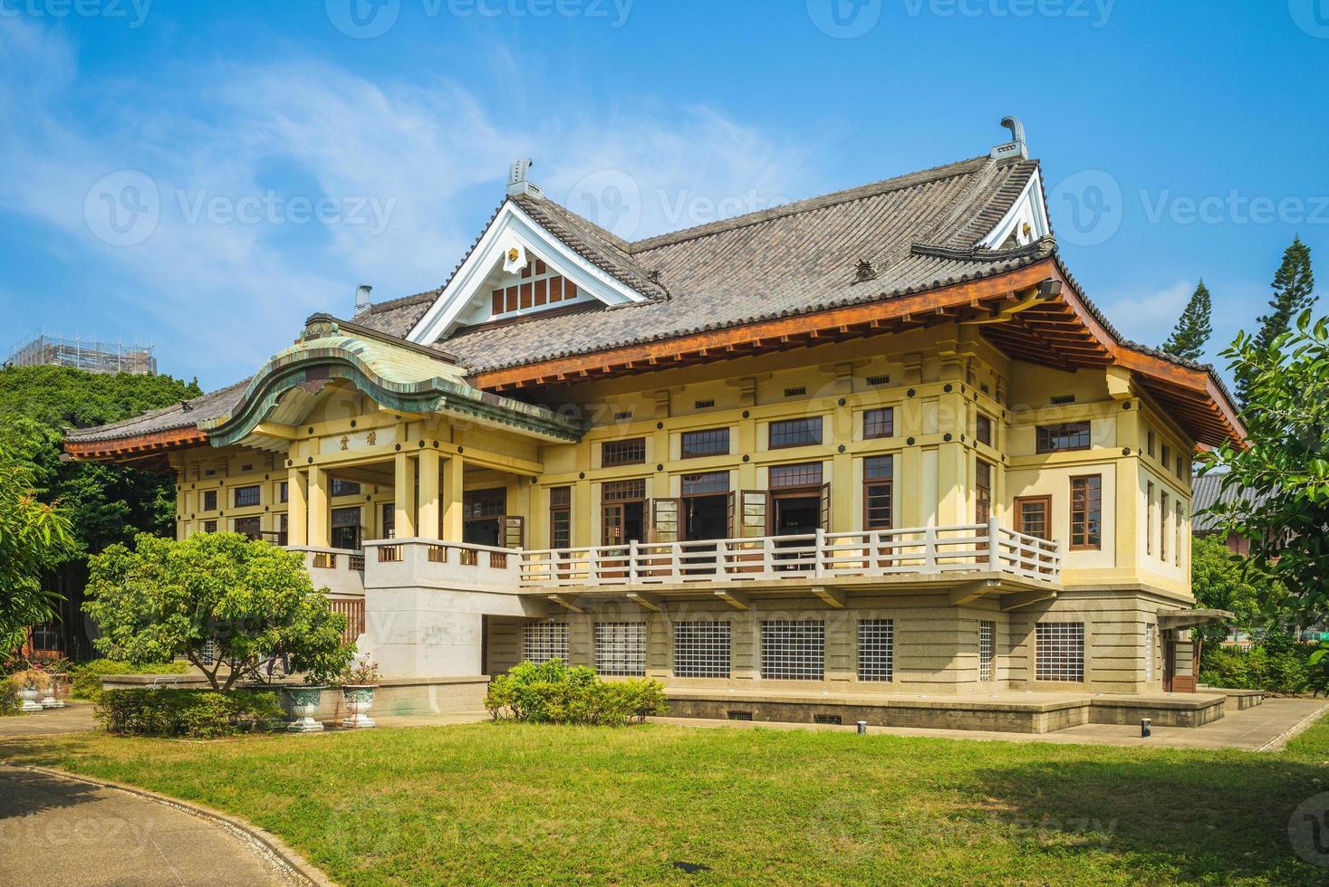Wude hall, aka Bushido Hall, in Tainan, Taiwan photo