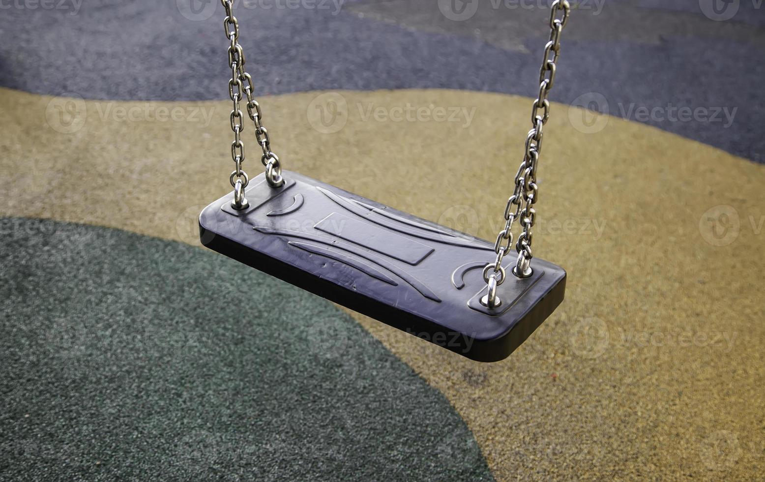 Child swing seat photo