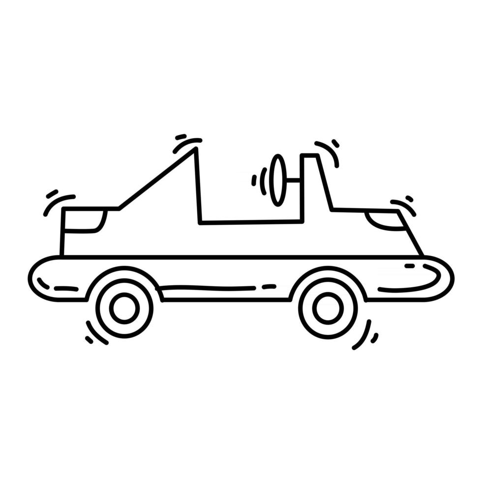 Playground kids karting ,playing,children,kindergarten. hand drawn icon set, outline black, doodle icon, vector icon