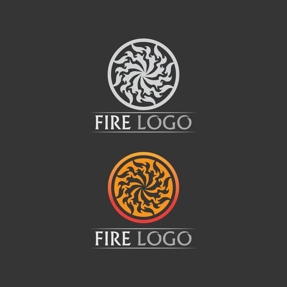fire logo and icon, hot flaming element Vector flame illustration design energy, warm, warning, cooking sign, logo, icon, light, power heat