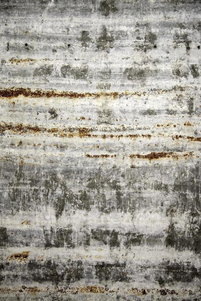 textura de óxido en la pared de metal foto