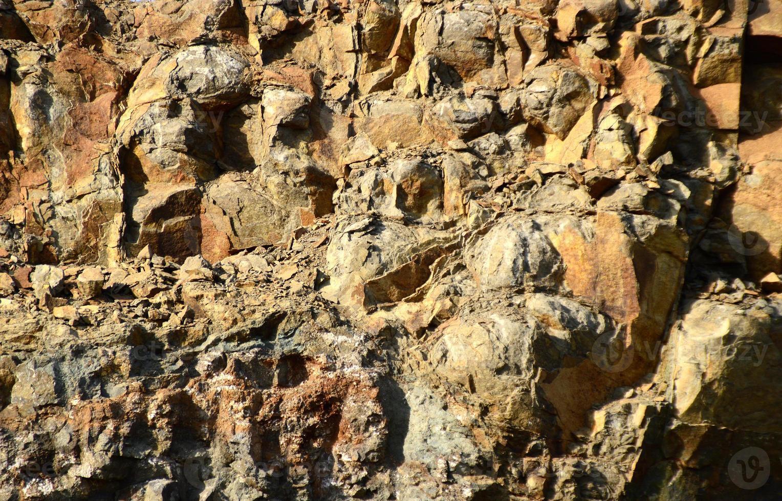 Seamless stone texture. Close-up of Stone photo