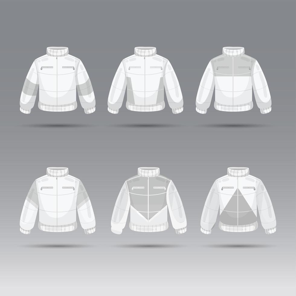 Jacket and Outer Wear Concept vector