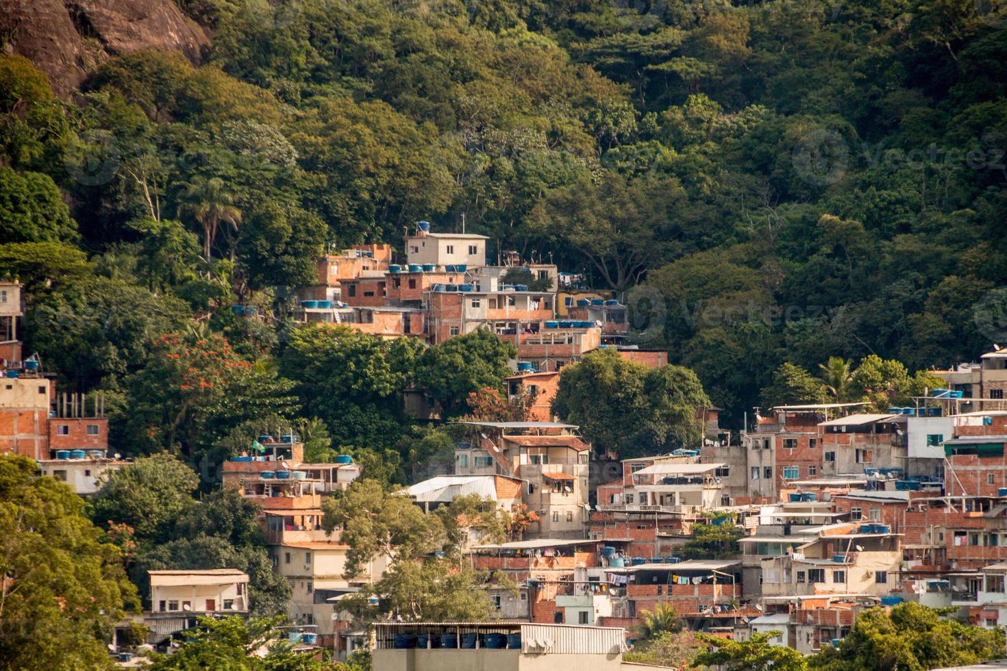 Tijuquinha hill on the west side of Rio de Janeiro. photo