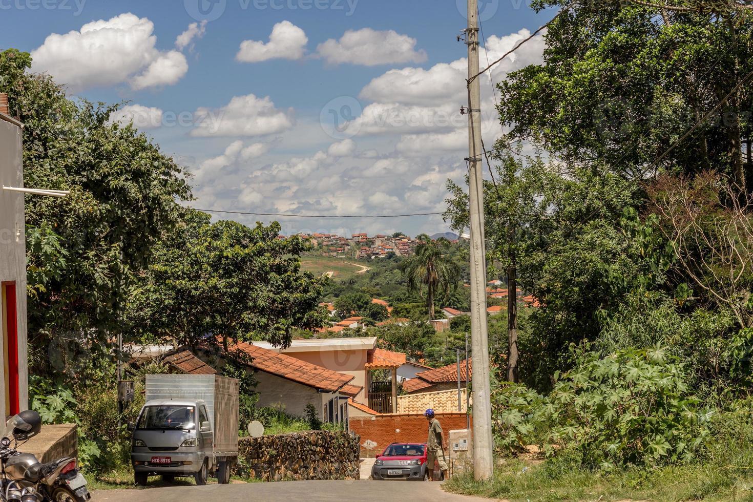 detalles de la ciudad de tiradentes en brasil foto