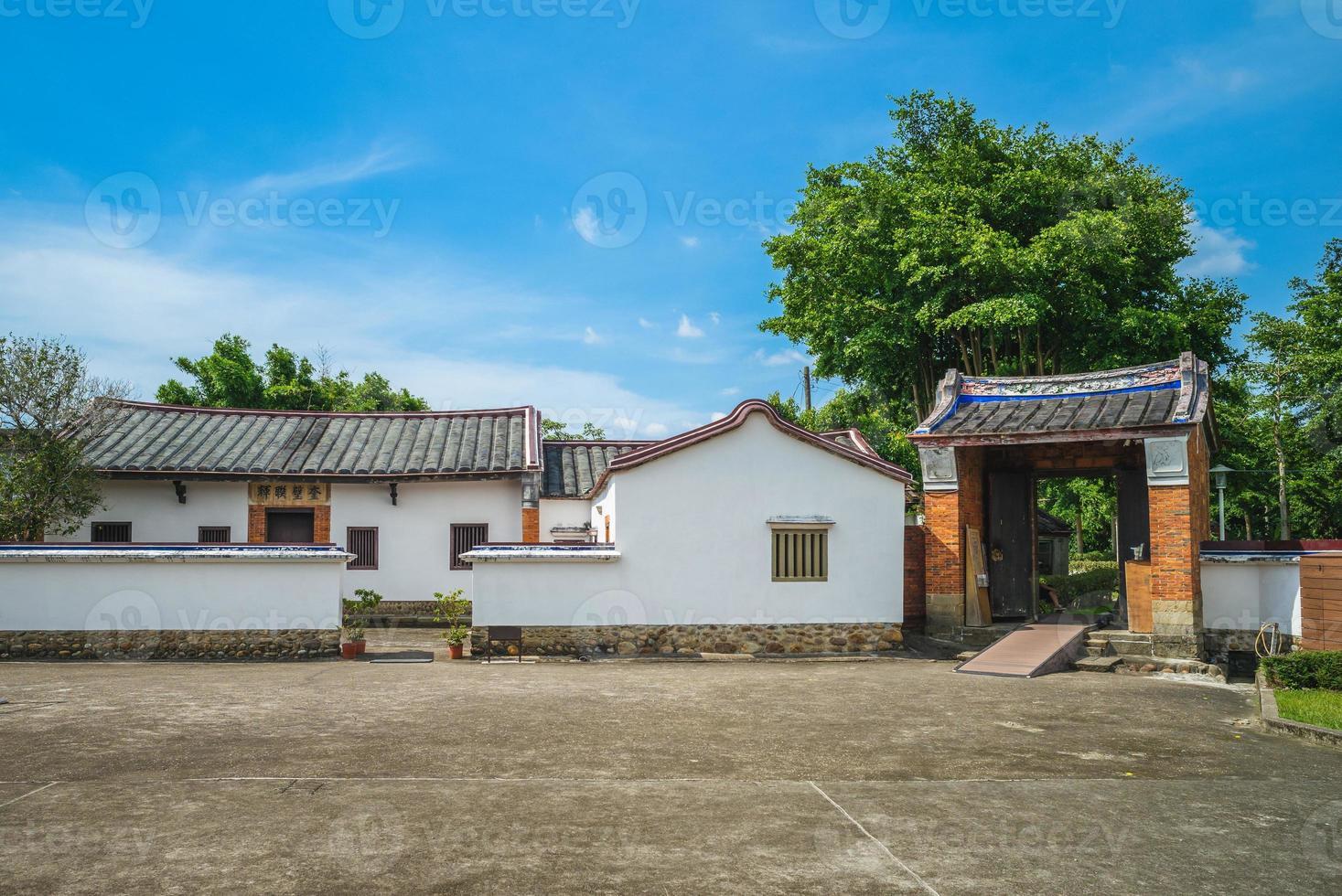 sala de estudio de la antigua residencia lee tengfan en taoyuan, taiwán foto