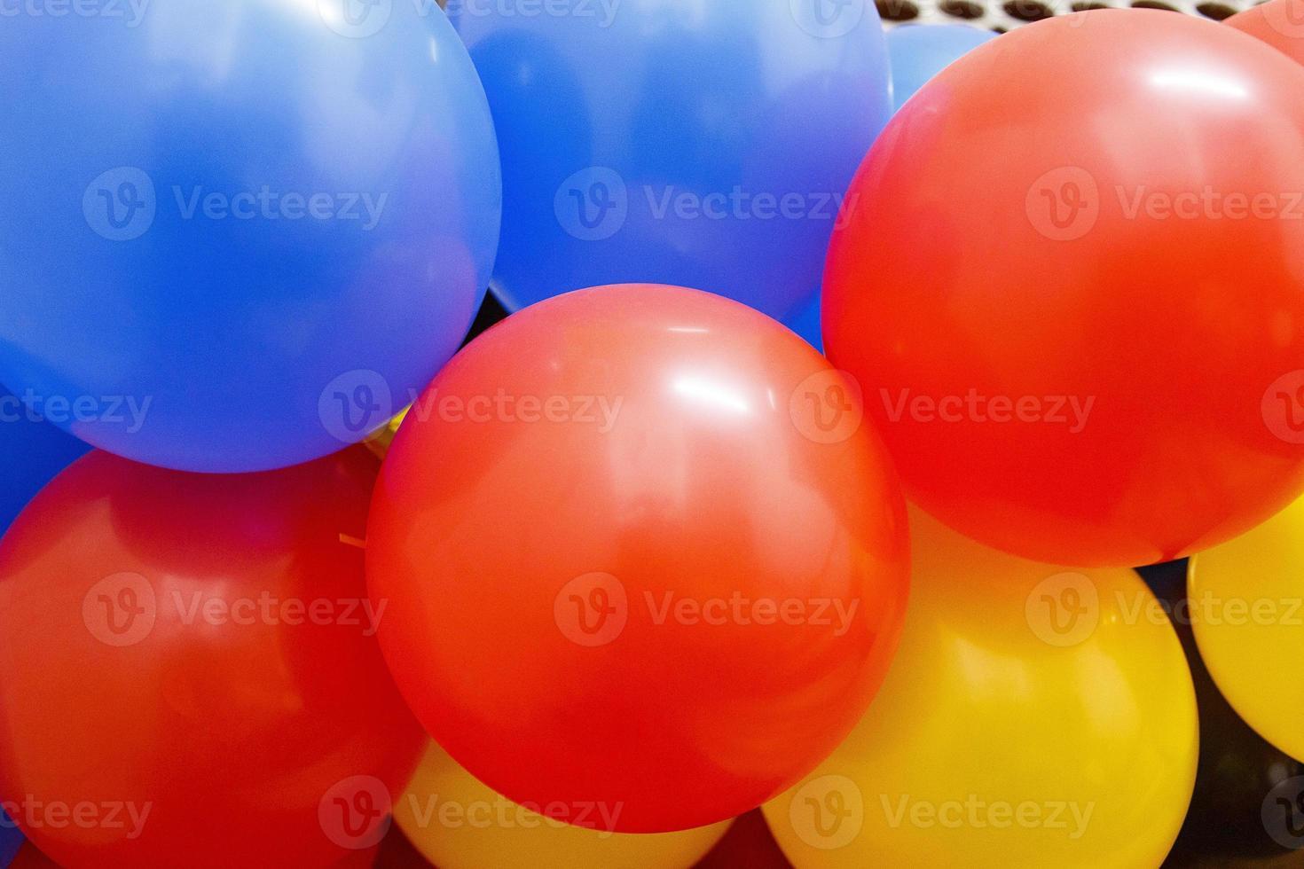 globo para la decoración de la fiesta de cumpleaños foto