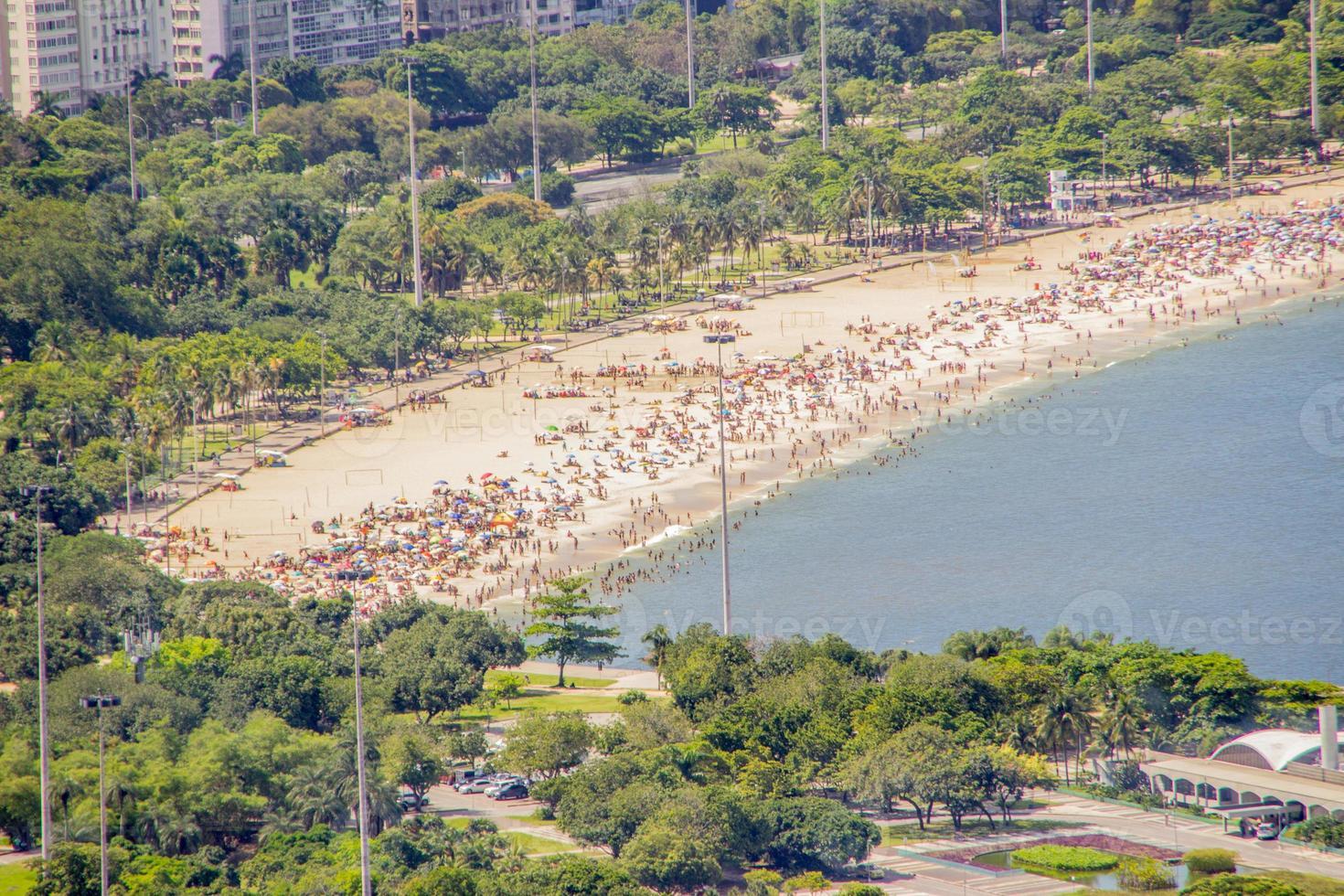 playa flamengo en río de janeiro foto