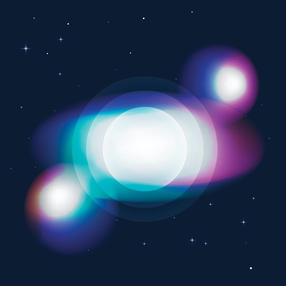 Crystal Rainbow Light Effects. Light streak overlay pattern designs. Vector illustration.