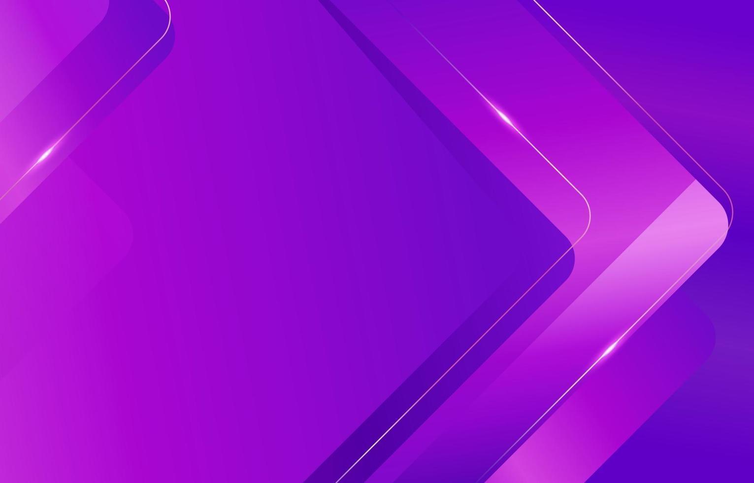Purple Rectangle Curve Background vector