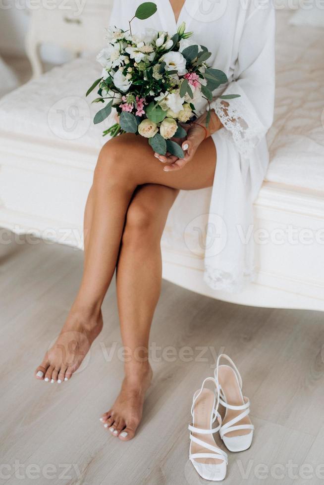 wedding bridal bouquet photo