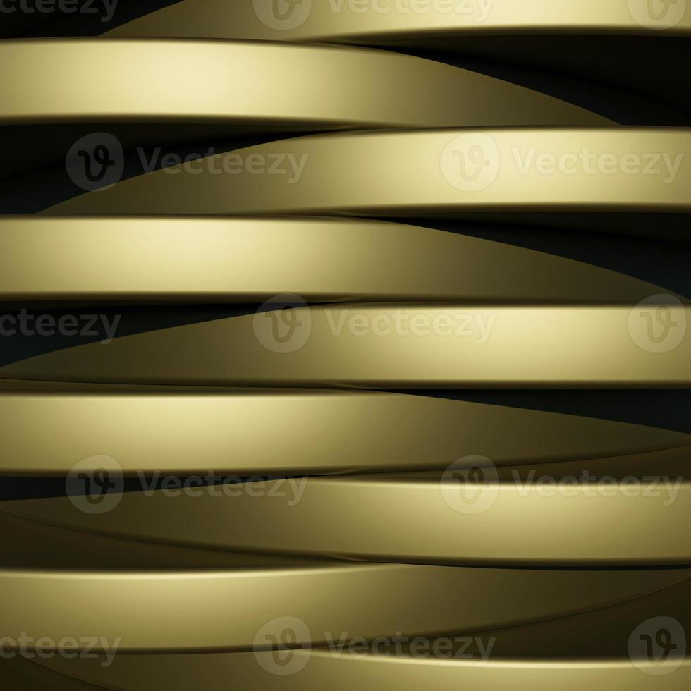 Luxury Gold Background with metal texture in 3d abstract style photo