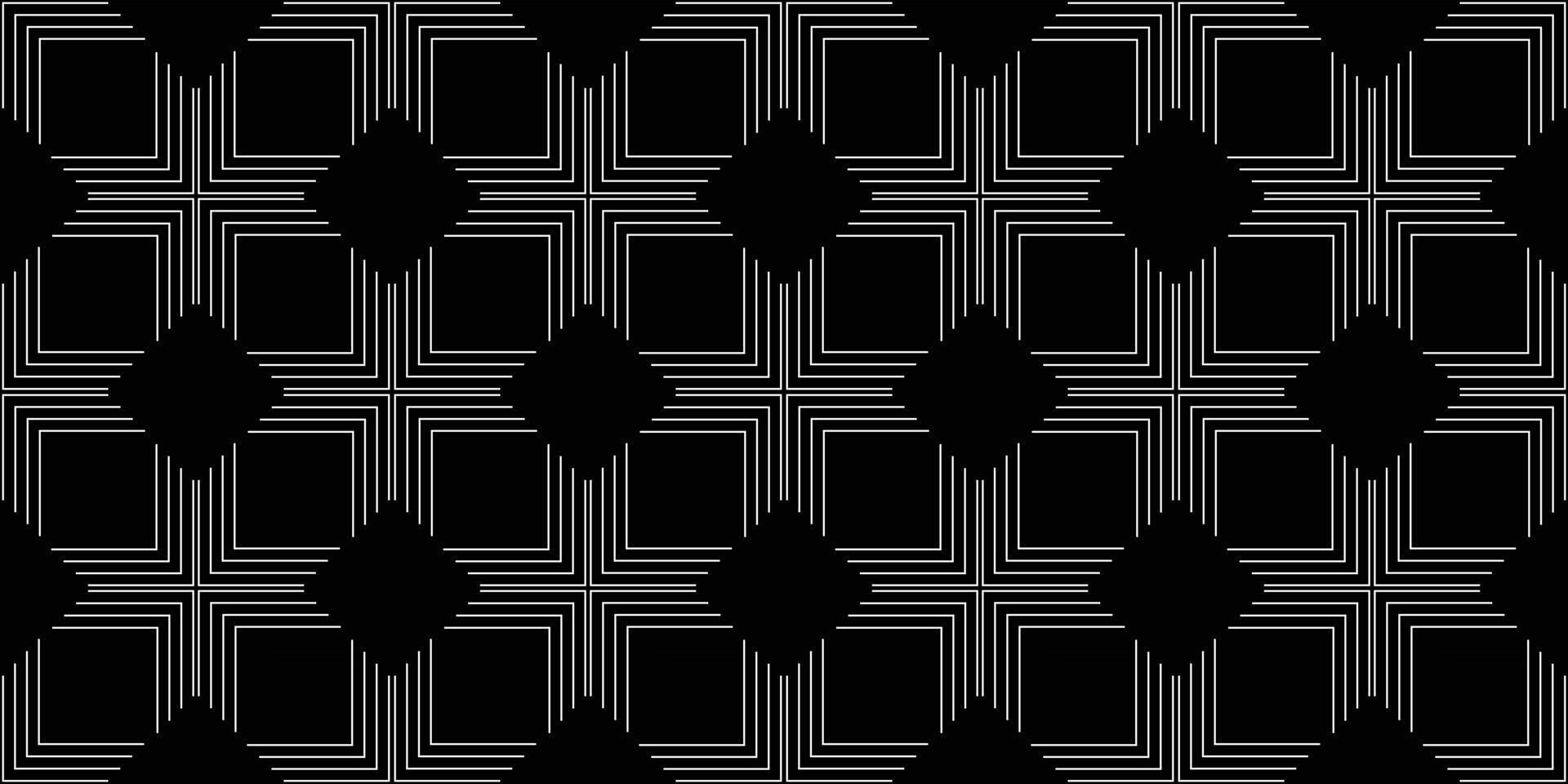 Geometric pattern with line Vector illustration