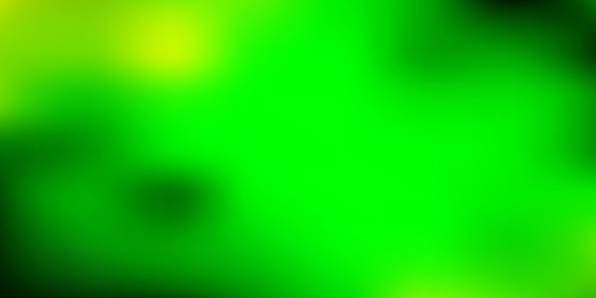 Fondo de desenfoque abstracto de vector azul oscuro, verde.