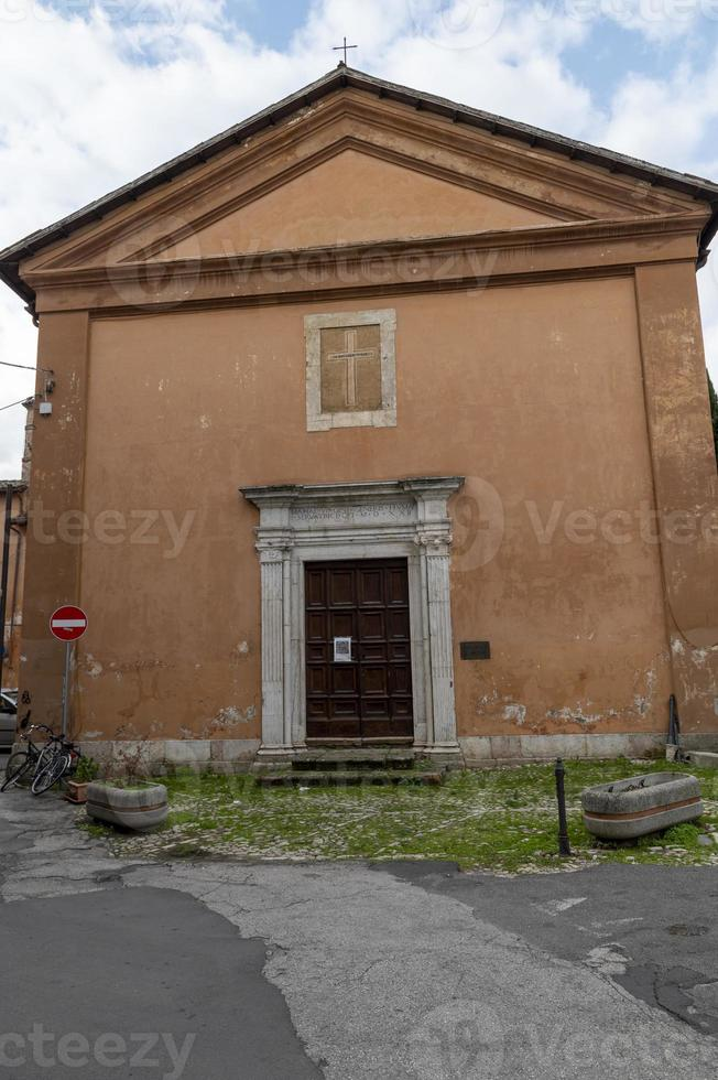Church of San Nicola in the city of Rieti, Italy, 2020 photo