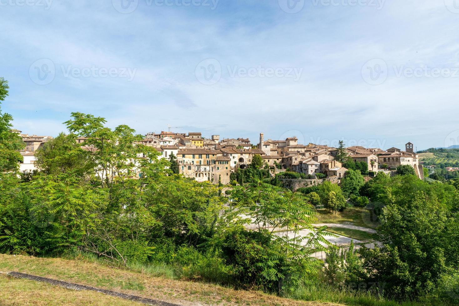 vista de san gemini, italia, 2020 foto