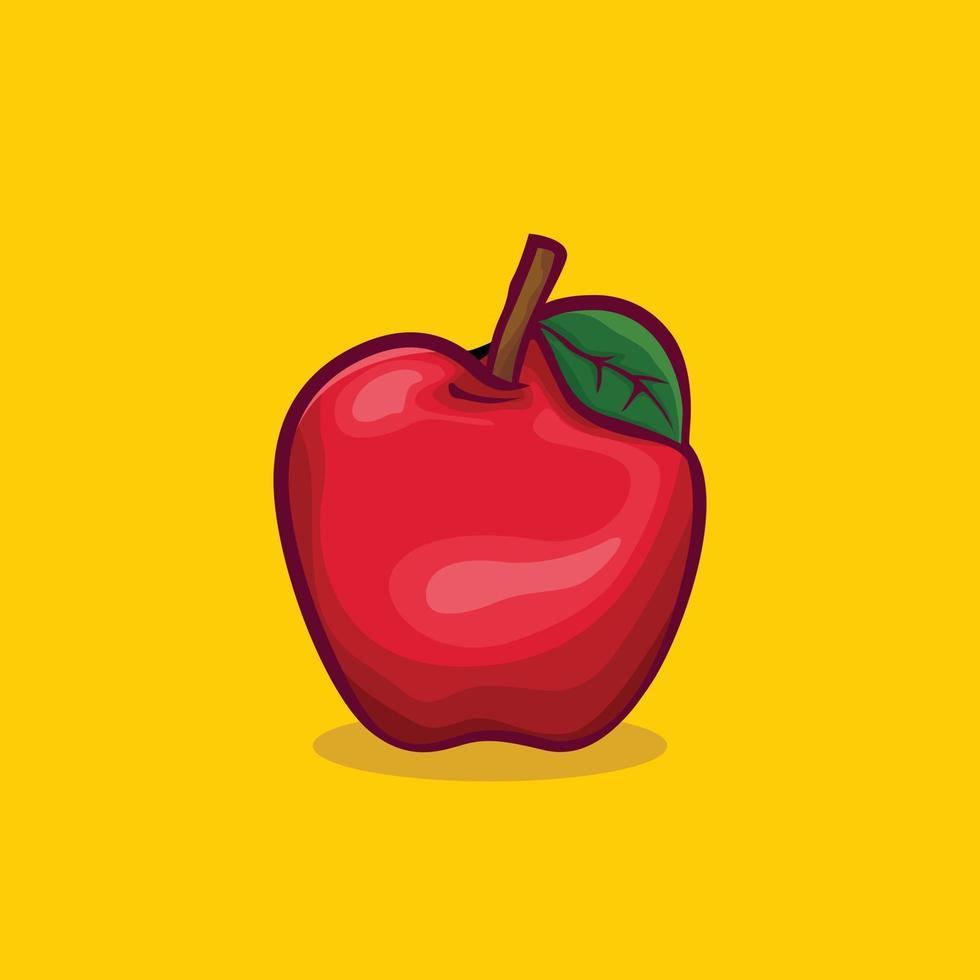 apple icon isolated Vector illustration