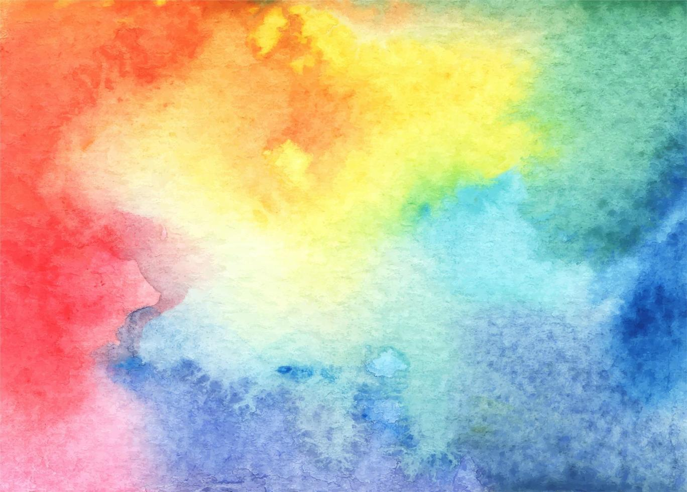 Abstract bright watercolor background, shades and textures. vector