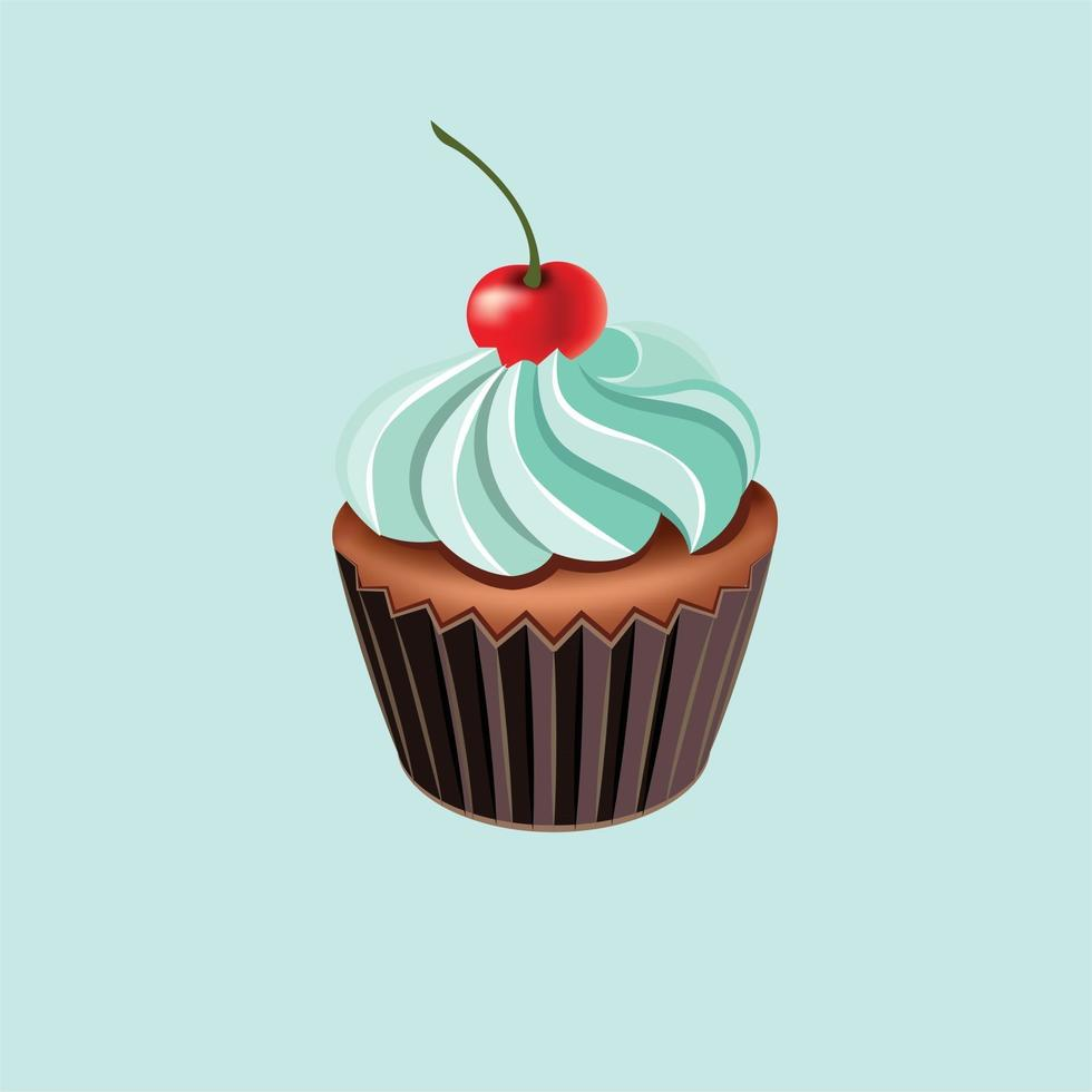 cakes icon realistic vector ilustration