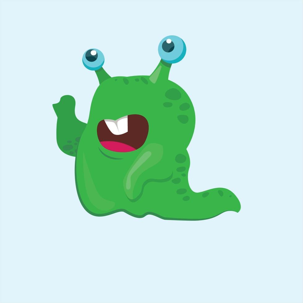 cartoon monster character vector ilustration