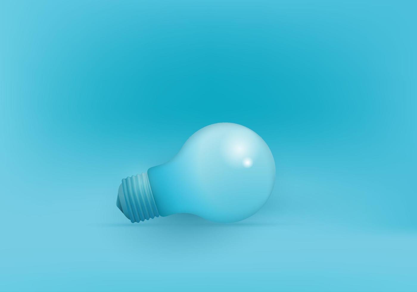 bulb creative idea creativity, New idea and concept with light bulb vector