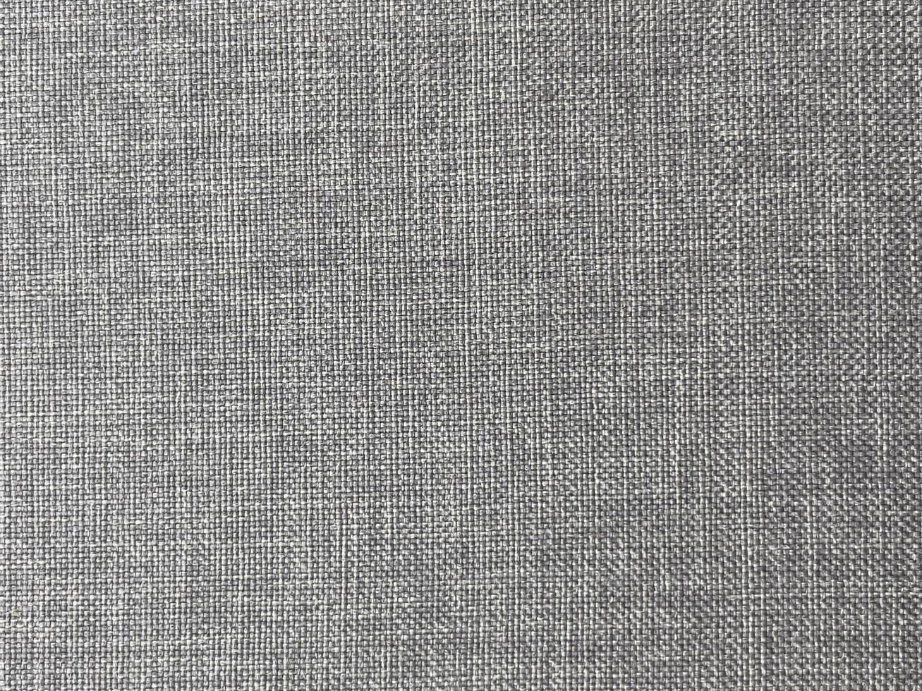 Natural linen gray color texture as background photo