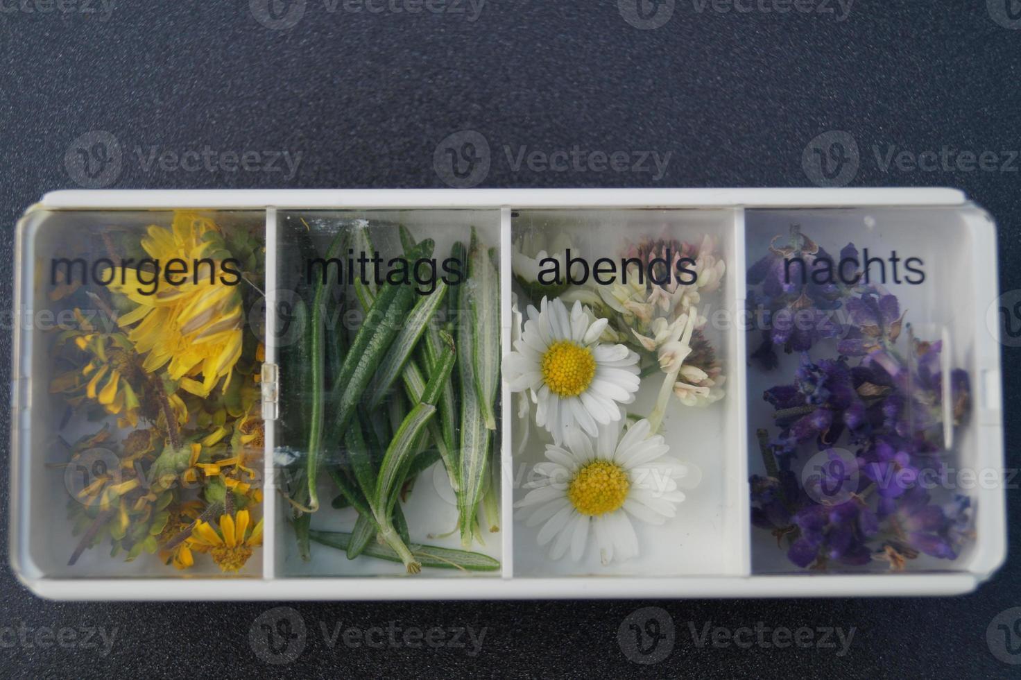 natural medicine - natural pharmaceuticals without prescription photo