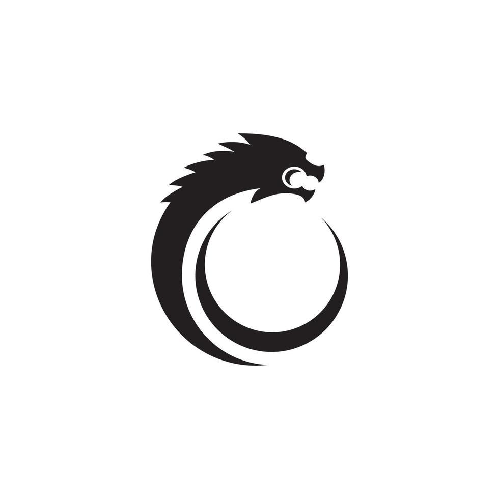 Dragon Head Vector Logo Illustration