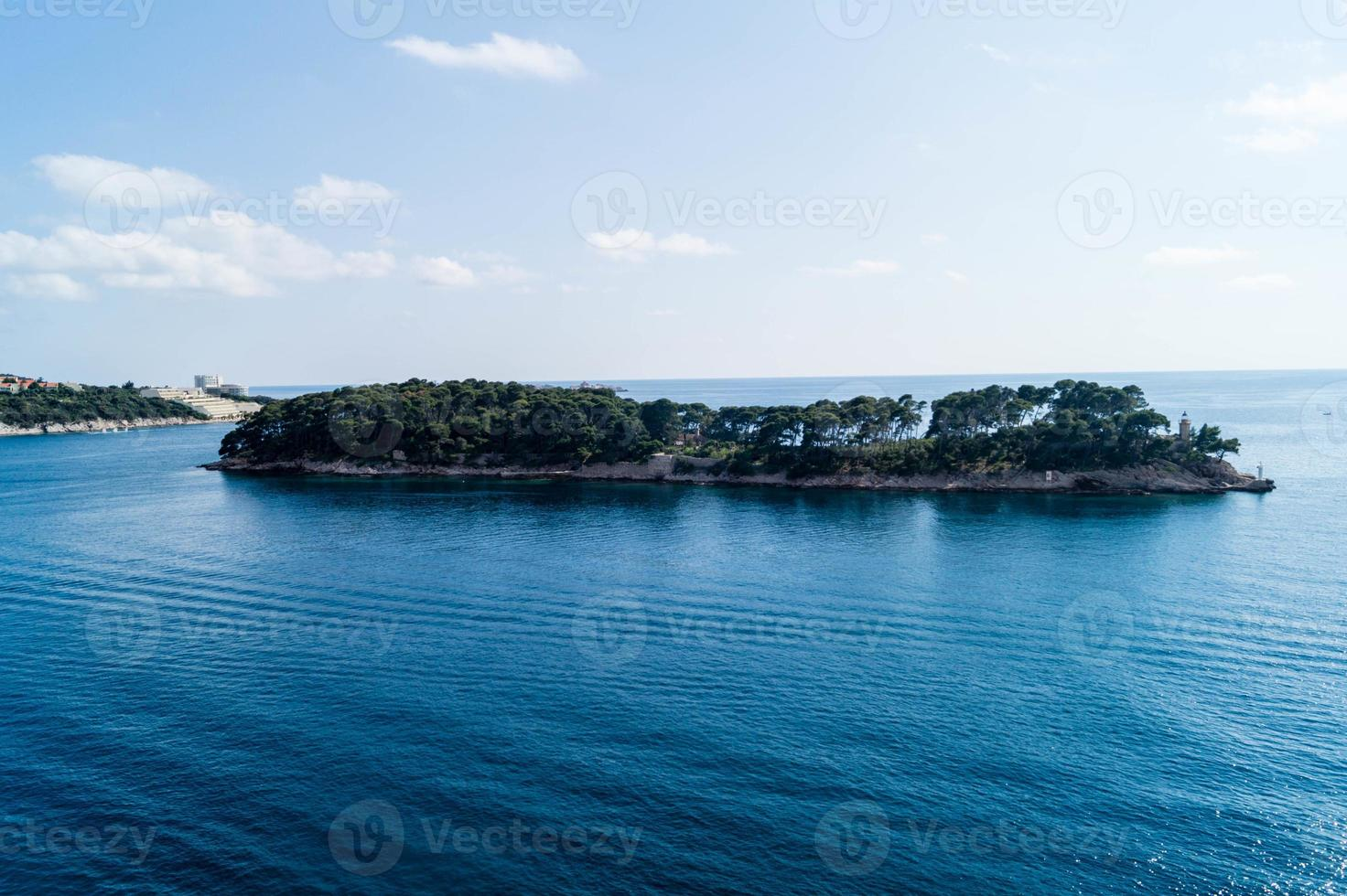 el nuevo puerto de dubrovnik foto