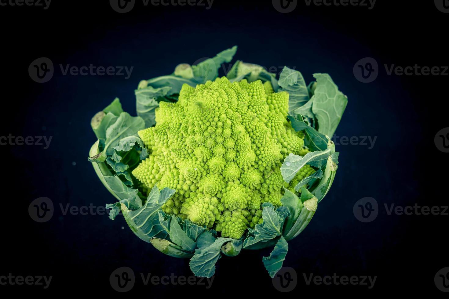 Romanesco the italian green cauliflower photo