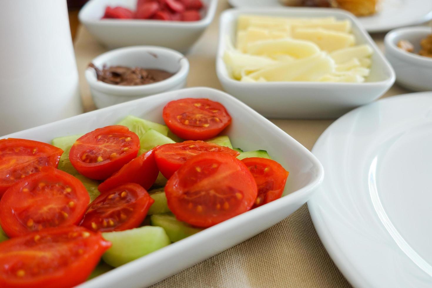 Turkish Traditional Breakfast Table photo