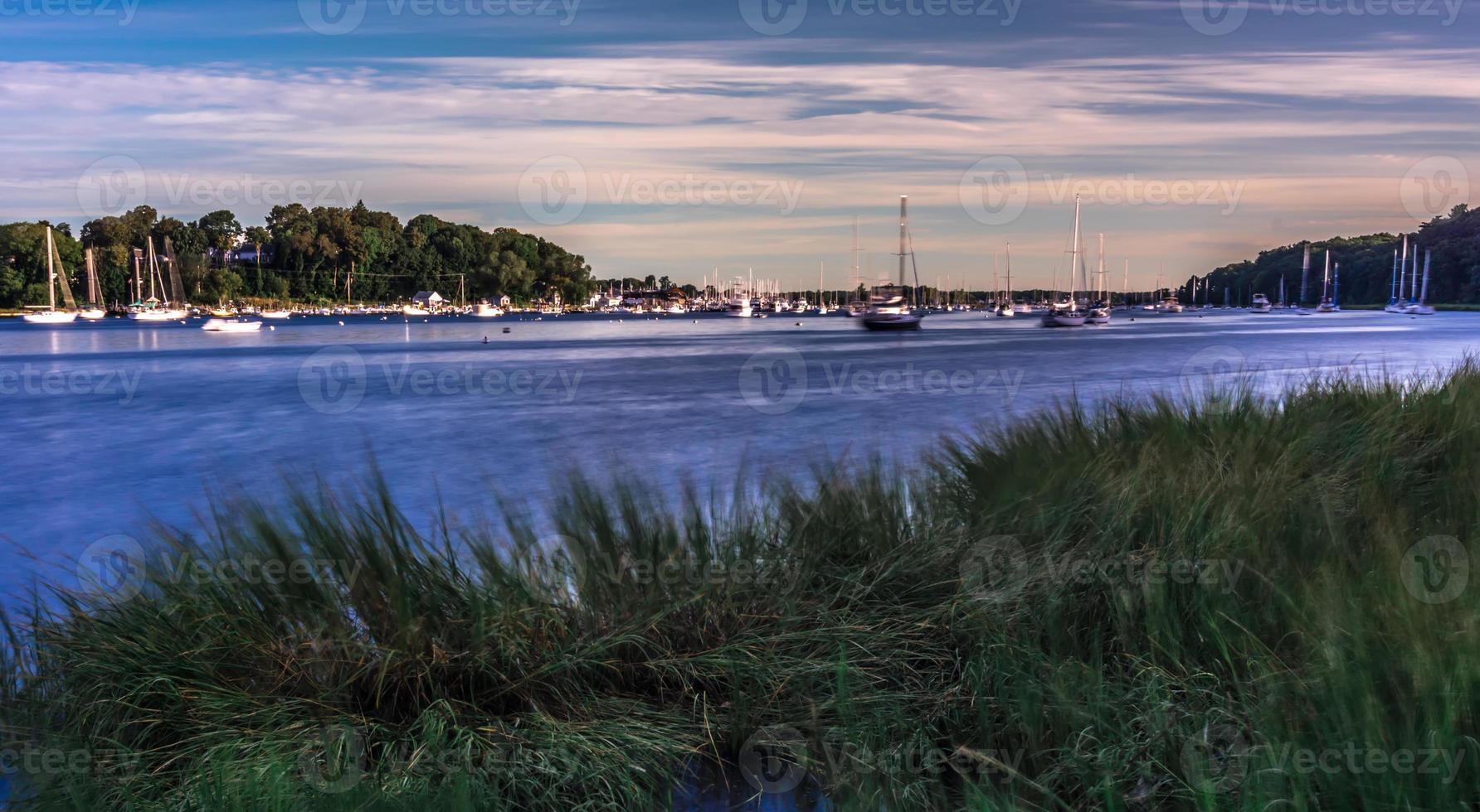 Greenwich Bay Harbor Seaport in east greenwich Rhode Island photo