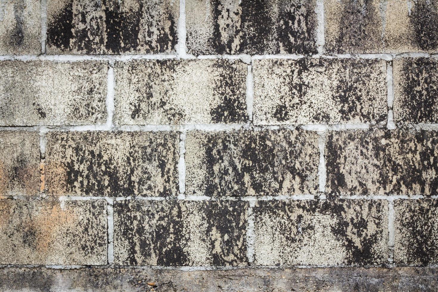 dirty grunge brick wall background photo