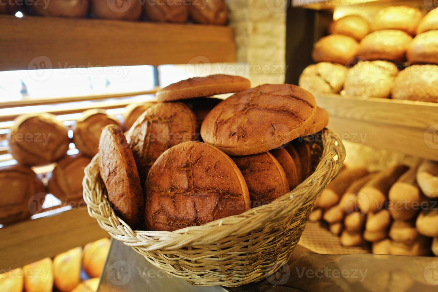 Basket and Corn Bread, Pastry, Bakery and Bakery photo