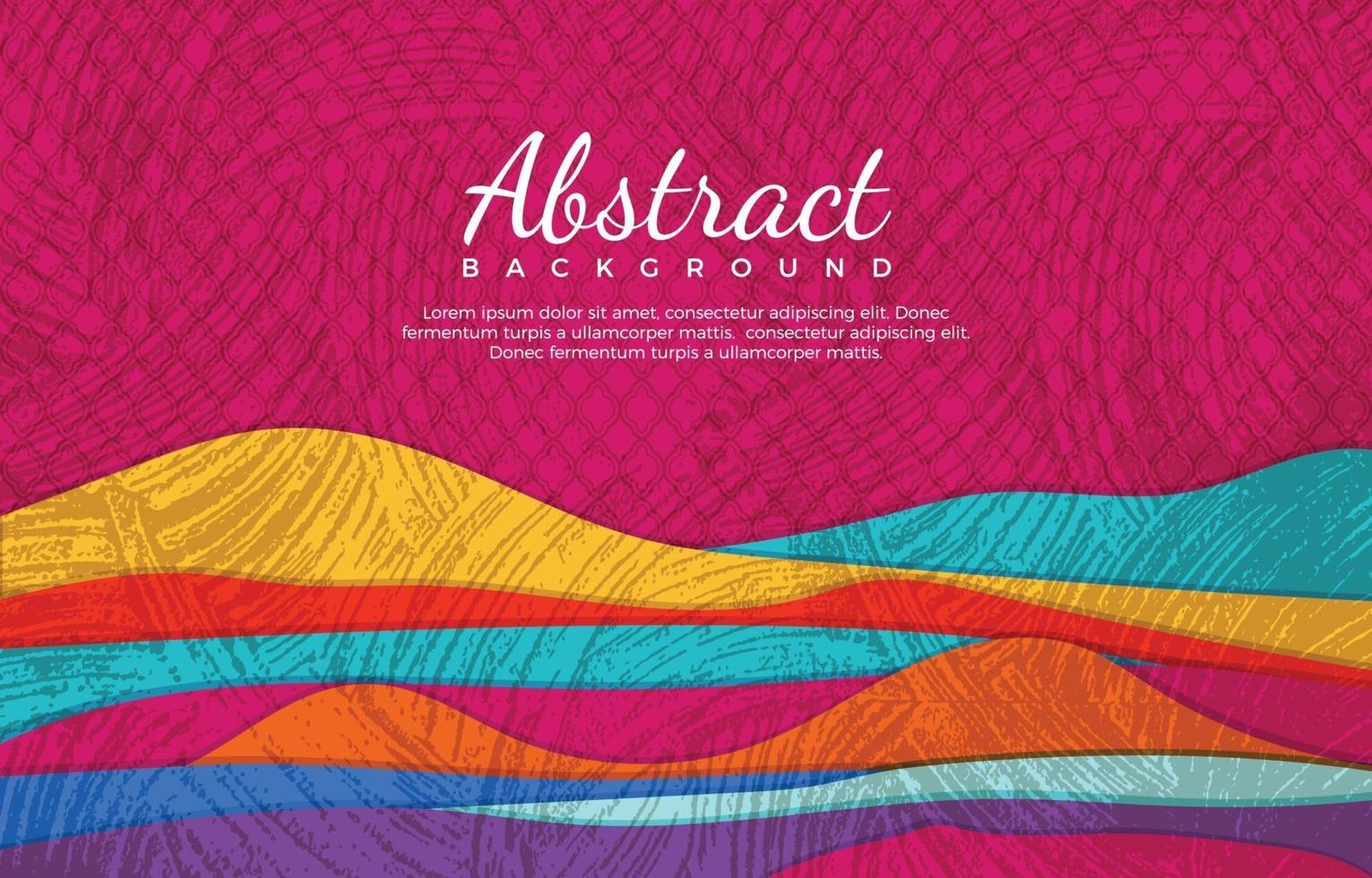 Colorful Background with Dry Brush Texture vector