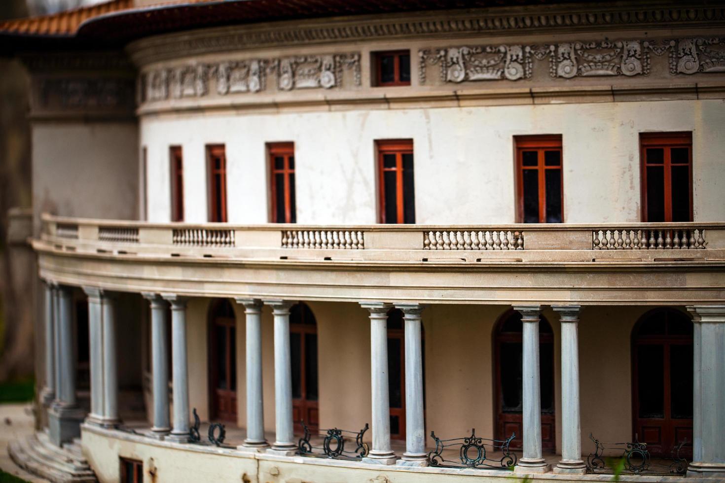 Model Art of Historical Building photo