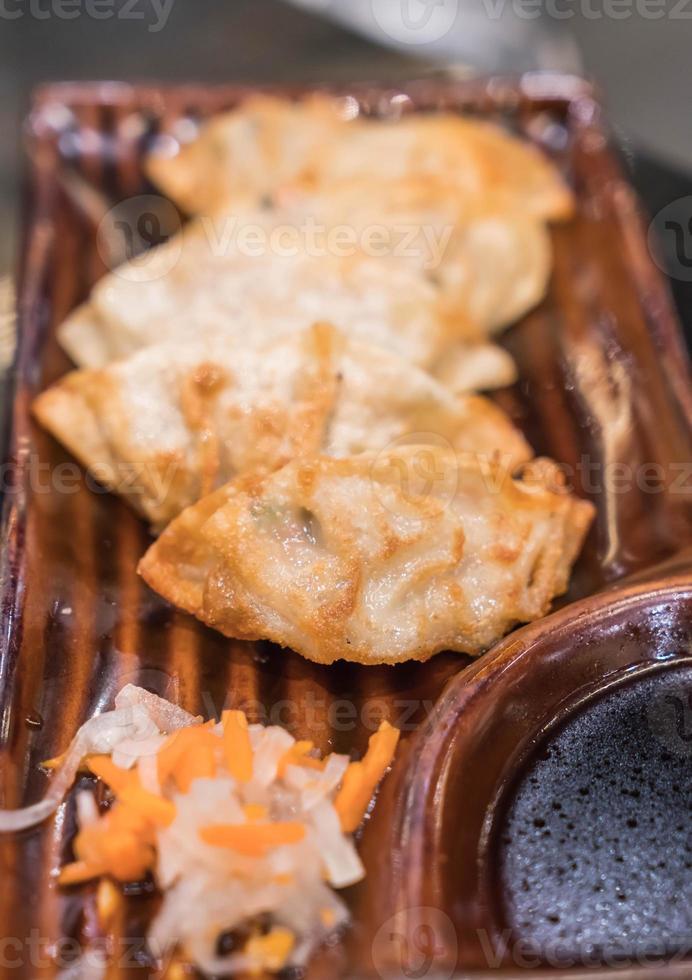 Gyoza or Dumpling photo