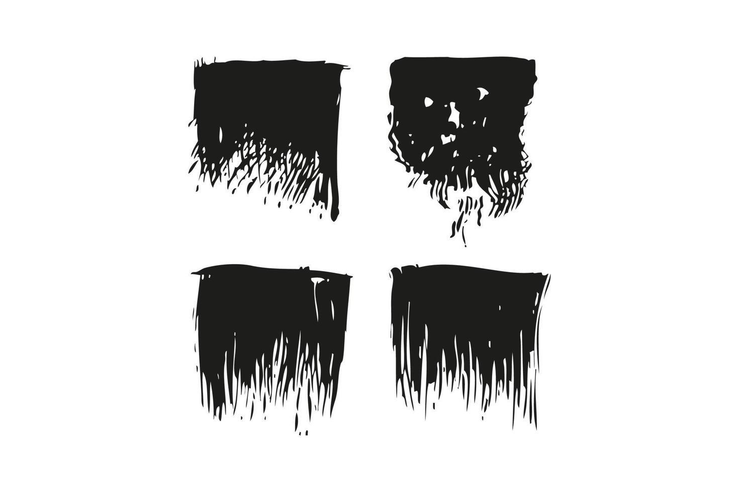 grunge brush vector