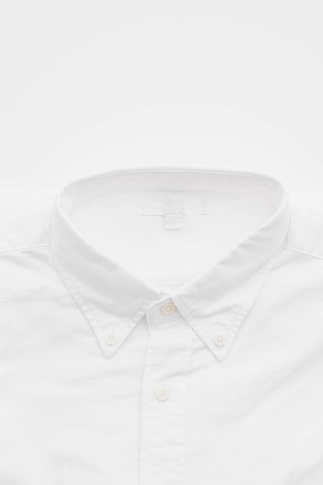 White shirt on white photo