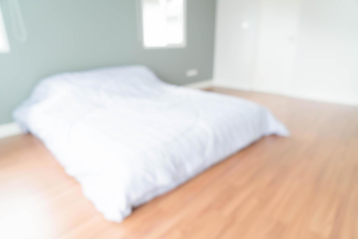 Abstract blur bedroom interior photo