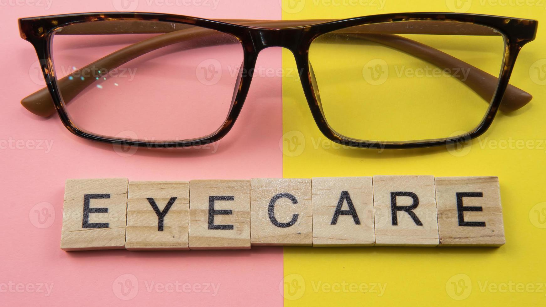 concepto de salud ocular foto
