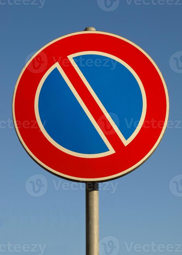 No parking sign photo