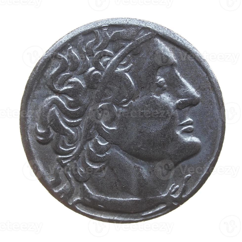 monedas griegas antiguas foto