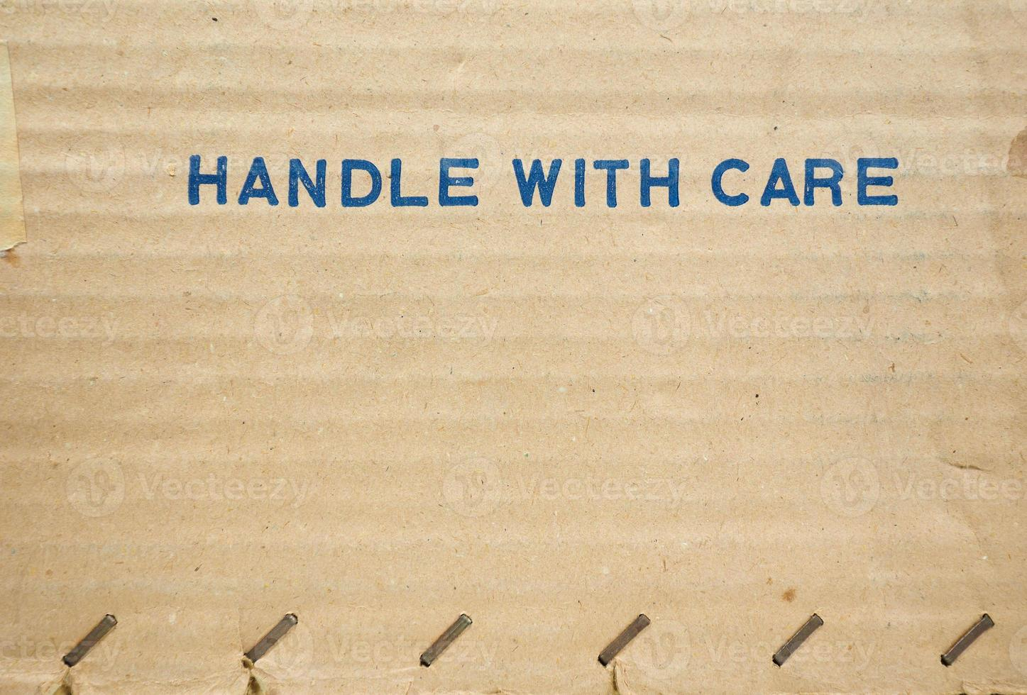Handle with care photo