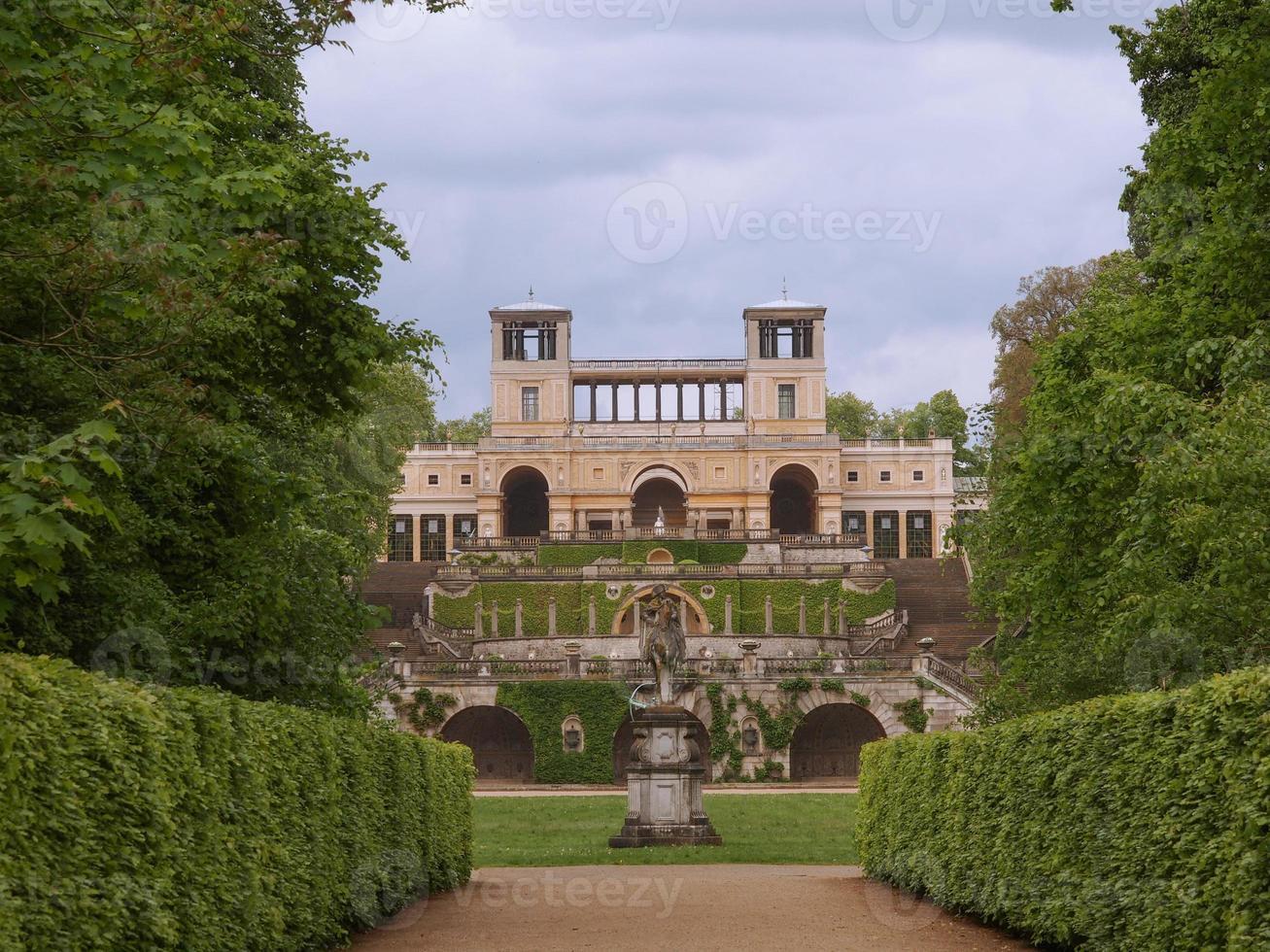 Orangerie in Potsdam photo