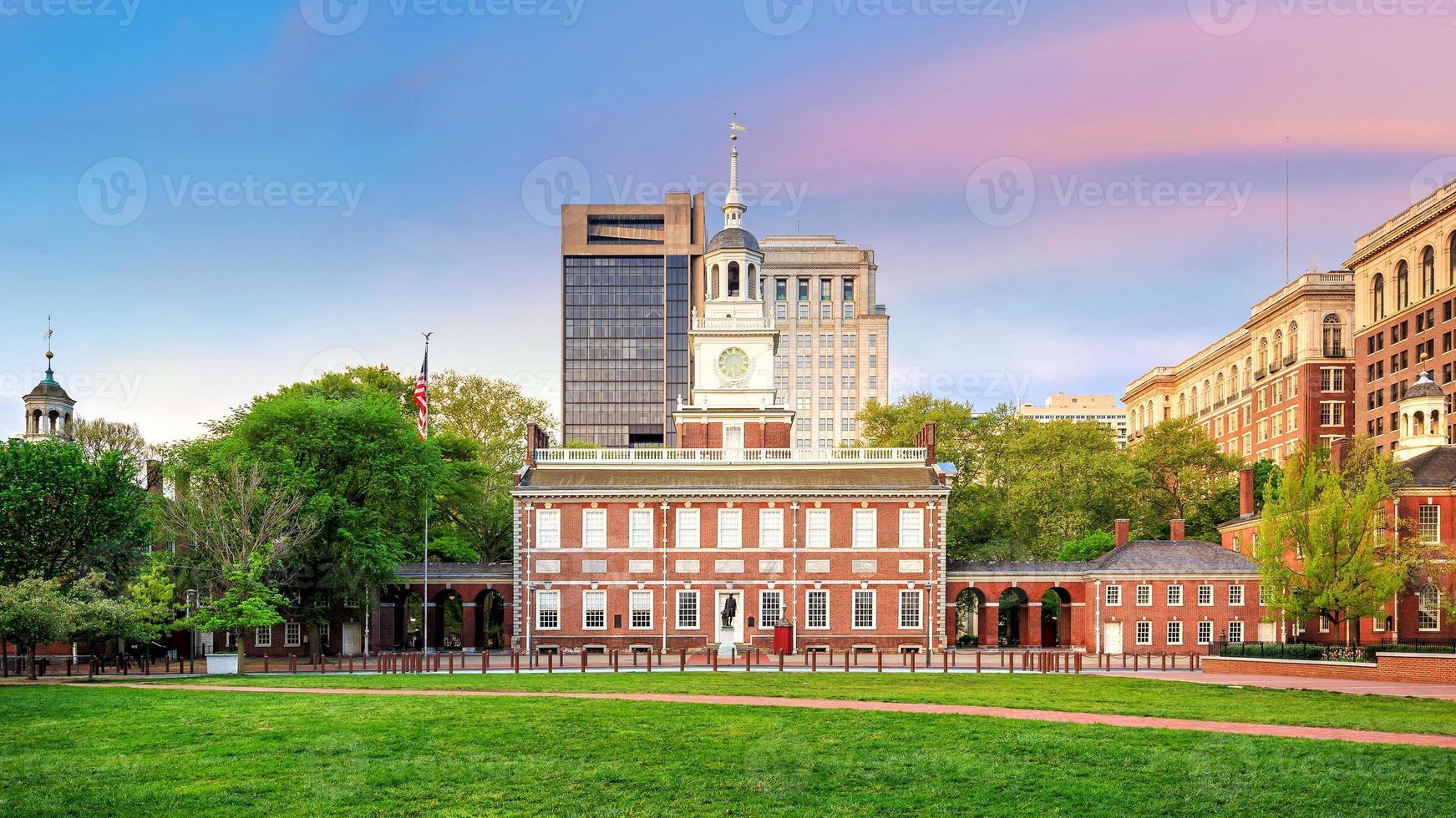 Independence Hall in Philadelphia photo
