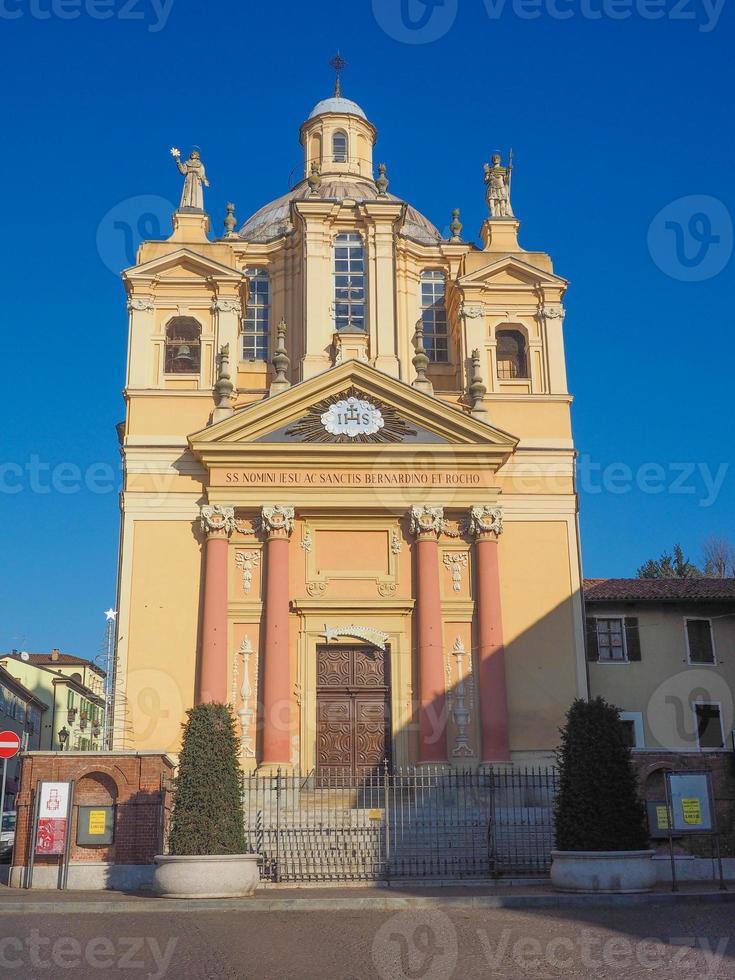 Church of San Bernardino meaning St Bernardine in Chieri photo