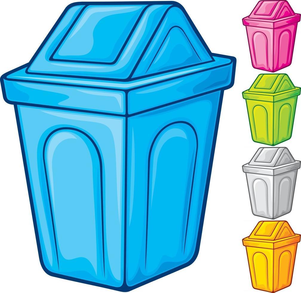 Recycle Bin Color vector
