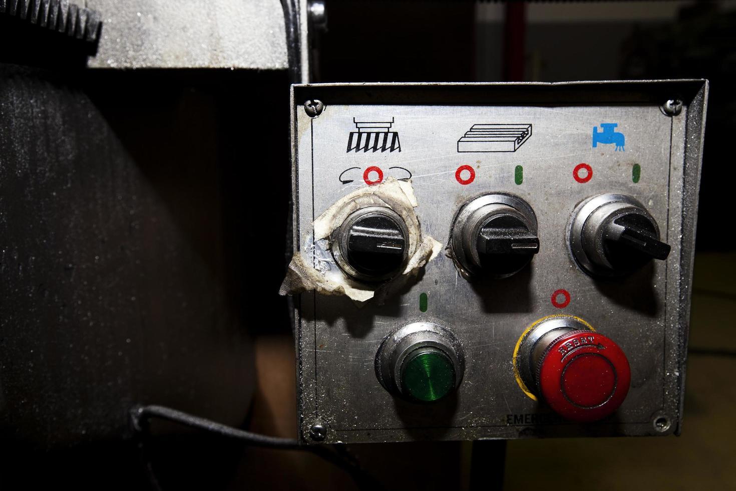 Fábrica de fabricación de máquinas tecnológicas industriales. foto