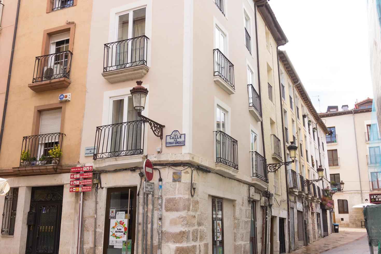 Burgos, Spain, 2021 - Buildings in Burgos photo